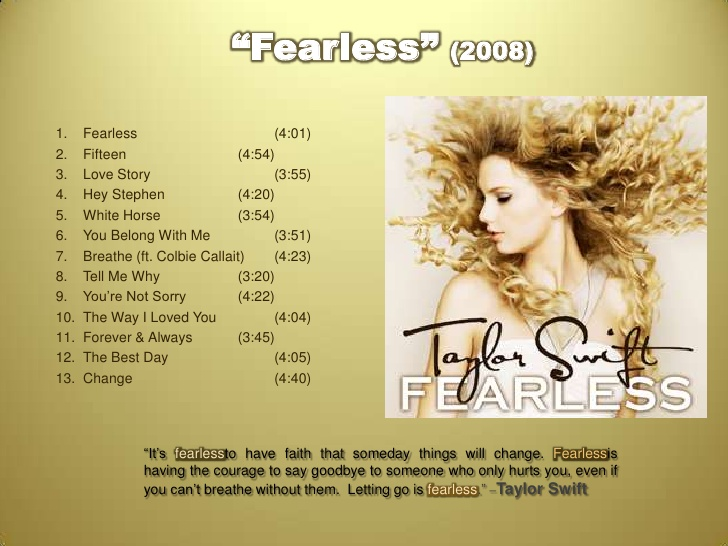 Download Taylor Swift Taylor Swift – Fearless (2008)